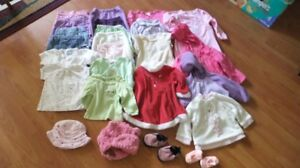 9 Months girls clothing - 25 pieces