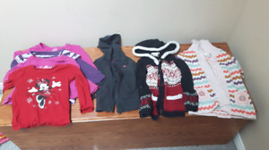 Girls 3t lot of long sleeves