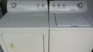 Whirlpool Washer + Dryer. Delivery Included.