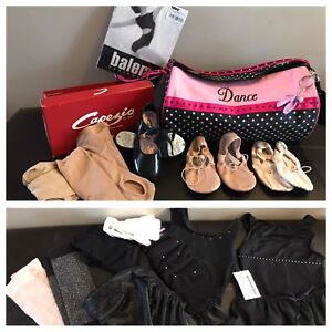 Ballet, Jazz and Acro Dance Wear sz. 2-4