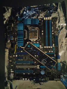 Asus p8p67 deluxe motherboard LGA 1155 *READ*