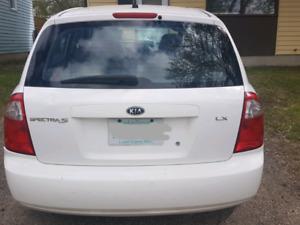 Kia Spectra LX5 hatchback