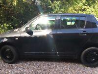 Suzuki swift 2008 black hatchback £1699