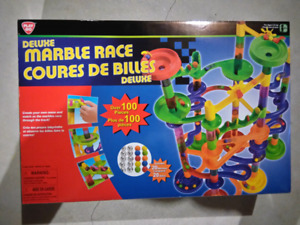 Deluxe Marble Race - new in box $20
