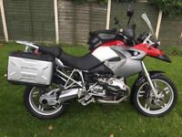 Bmw r1200gs 2005 long mot 33k miles good condition