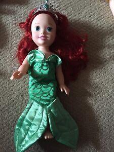 Disney mermaid Ariel Doll