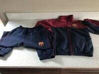 barcelona tracksuit age 8-9