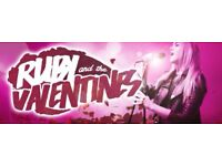Ruby And The Valentines (Function Group) Looking for Bassist South Wales