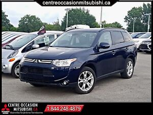 Mitsubishi Outlander 2014 GT S-AWC V6 * TOIT-OUVRANT, CUIR, 710