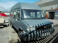 2004 LDV Convoy minibus unfinished camper project