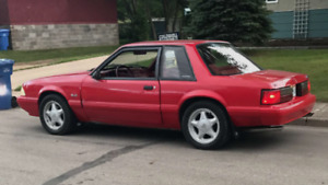 1992 Ford Mustang Lx 5.0L v8 (low km)