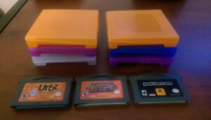 3 GBA Games and Containers