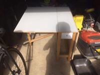 Folding Ikea table for sale
