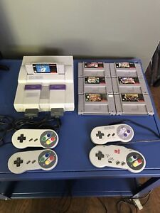 Super Nintendo Lot w/ 7 games