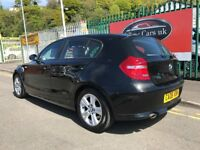 2008 (08 reg) BMW 1 Series 2.0 118d SE 5dr Turbo Diesel Automatic Low Miles
