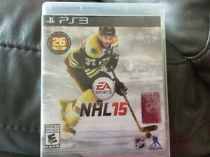 Ps3 NHL 15 comme neuf - 10$ Je suis a longueuil