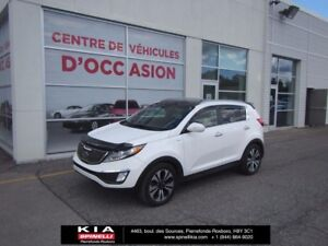 2012 Kia Sportage SX TURBO PANORAMIC ROOF - BACKUP CAMERA