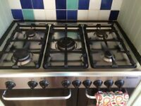 6 rings hob + double oven for sale