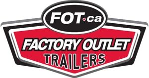 FACTORY OUTLET TRAILERS! Canada's Largest Dealership!