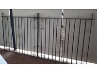Pair of Drive gates with fixtures
