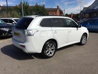2015 Mitsubishi Outlander 2.0 PHEV GX4h 5dr Auto Petrol/PlugIn Elec Hybrid white