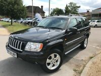 Jeep Grand Cherokee 2.7 CRD LIMITED (black) 2004