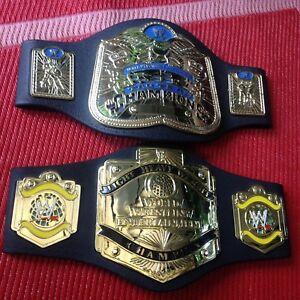 2 WWE foam wrestling belts