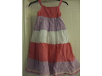 BEAUTIFUL MOTHERCARE SUMMER DRESS Age 4-5 - IMMACULATE & fully lined