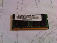 Adata PC2-5300S 1GB AD29608A8A-3EG Laptop Memory
