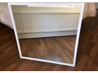 IKEA Mirror 'NISSEDAL' style in white