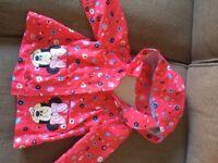 Minnie Mouse girls rain mac/light jacket
