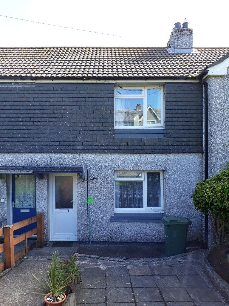 2 bed terraced house with garden