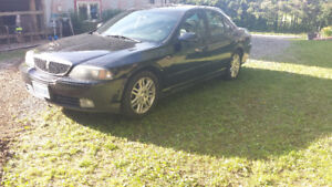 2004 Lincoln LS Black Sedan