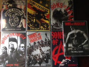 Sons of Anarchy - Seasons 1-7