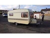 Colchester 4 birth 1980 vintage caravan