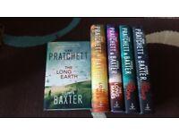 Long earth series - terry pratchett & stephen baxter