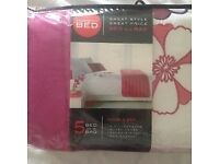 BNIB Double Bed in a Bag Duvet Set