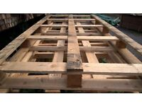 8ft x 4ft wooden / timber pallets
