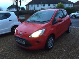 2014 FORD KA EDGE RED / CAT D 26,000 MILES / STOP-START TECH 1 OWNER / SUPERB CONDITION