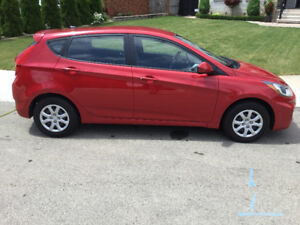 2013 Hyundai Accent L Hatchback low 17,000 km