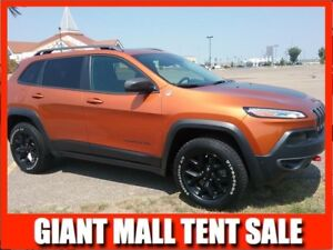 2015 Jeep Cherokee TRAILHAWK  **LEATHER-SUNROOF**