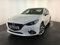 2014 MAZDA 3 SPORT NAV DIESEL 1 OWNER FROM NEW SERVICE HISTORY FINANCE PX