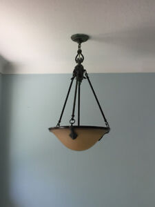 4 ceiling lights, great quality