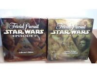 3x Star Wars Trivual Pursuit games