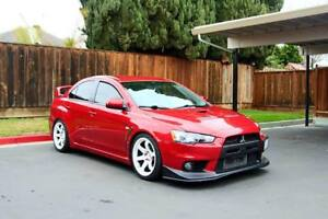 2008 Mitsubishi Evolution GSR Berline
