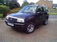 Great chance to own this little gem of a 4x4. excellent condition well looked after.