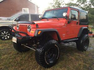 05 Jeep TJ Sport
