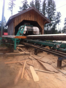Select Double Bandsawmill operation
