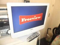 """A TECHNIKA 19 INCH 19"""" LCD TV TELEVISION WITH REMOTE MODEL X19/14B-GW-TCD-UK"""