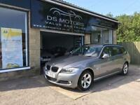 2011/11 BMW 3 SERIES 320d TOURER ESTATE 5 DOOR SILVER